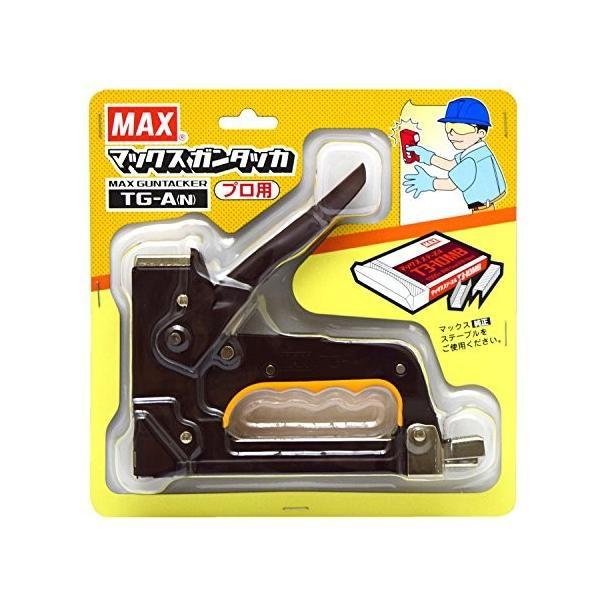 安心の定価販売 マックス MAX ガンタッカ 着後レビューで 送料無料 TG-A N
