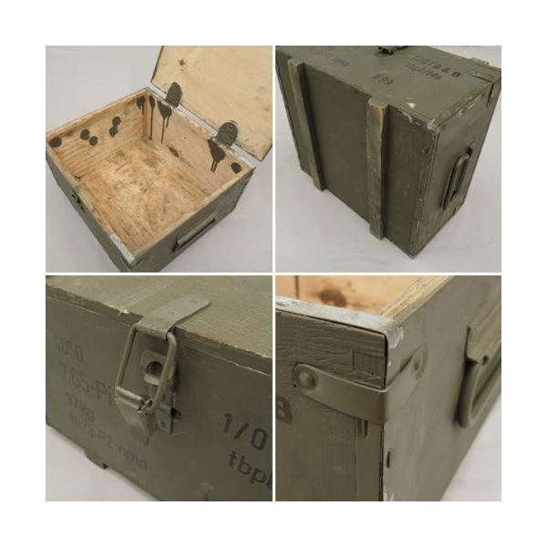 チェコ軍 アムニッションボックス USED サイズS 激安通販専門店 低廉