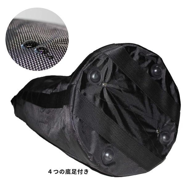荷揚げバケツ リフトバッグ 巾着付き 底面厚鉄板入り 最大荷重100KG Φ35cm*H140cm|nano1|03