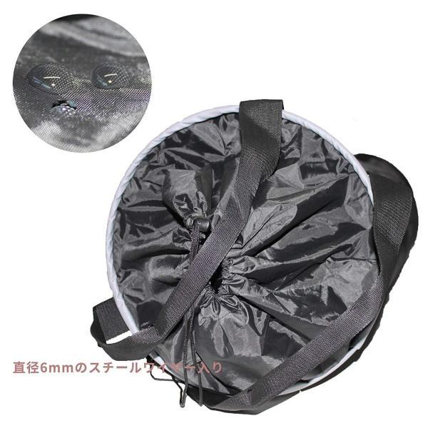 荷揚げバケツ リフトバッグ 巾着付き 底面厚鉄板入り 最大荷重100KG Φ35cm*H140cm|nano1|04