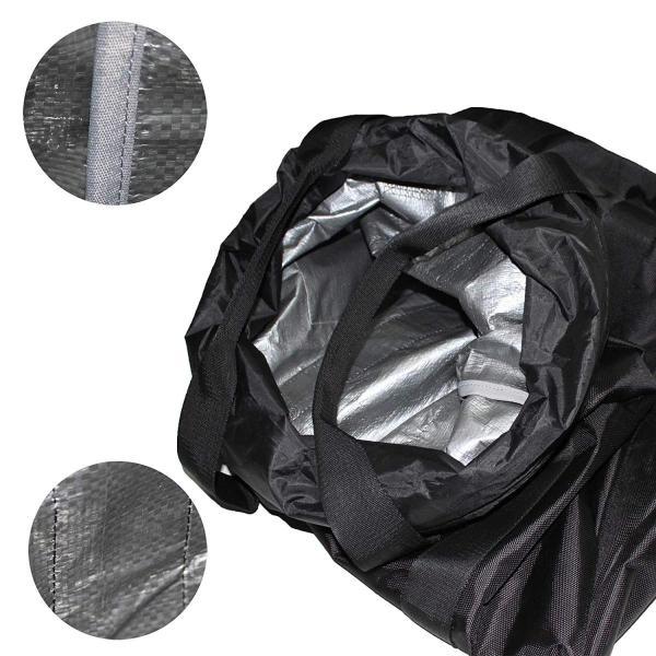 荷揚げバケツ リフトバッグ 巾着付き 底面厚鉄板入り 最大荷重100KG Φ35cm*H140cm|nano1|05