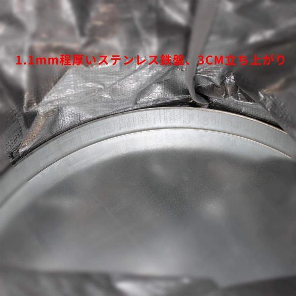 荷揚げバケツ リフトバッグ 巾着付き 底面厚鉄板入り 最大荷重100KG Φ35cm*H140cm|nano1|08