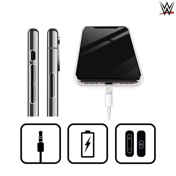 オフィシャル WWE ロゴ Finn Balor iPhone X/iPhone XS 専用ハードバックケース|nano1|02