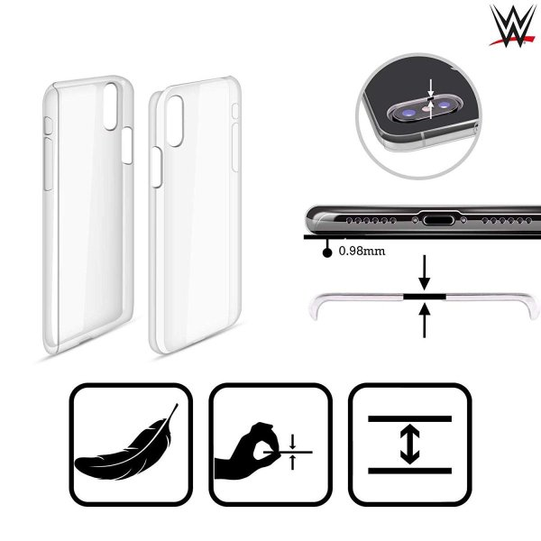 オフィシャル WWE ロゴ Finn Balor iPhone X/iPhone XS 専用ハードバックケース|nano1|05