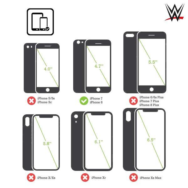 オフィシャル WWE American Pride ジョン・セナ iPhone 7 / iPhone 8 専用ハードバックケース|nano1|02