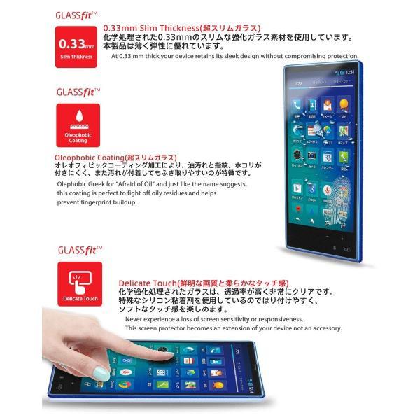 au AQUOS PHONE SERIE mini SHL24 液晶保護 強化ガラスフィルム エーユー アクオスフォン セリエ ミニ スマホ|nano1|02