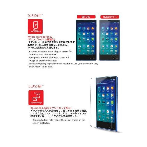 au AQUOS PHONE SERIE mini SHL24 液晶保護 強化ガラスフィルム エーユー アクオスフォン セリエ ミニ スマホ|nano1|04