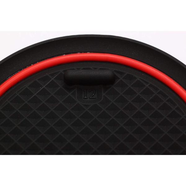 トヨタ カローラスポーツ 赤ステッチ 専用設計 12枚セット インテリア ドアポケット マット ドリンクホルダー 滑り止め ノンスリップ 収 nano1 08