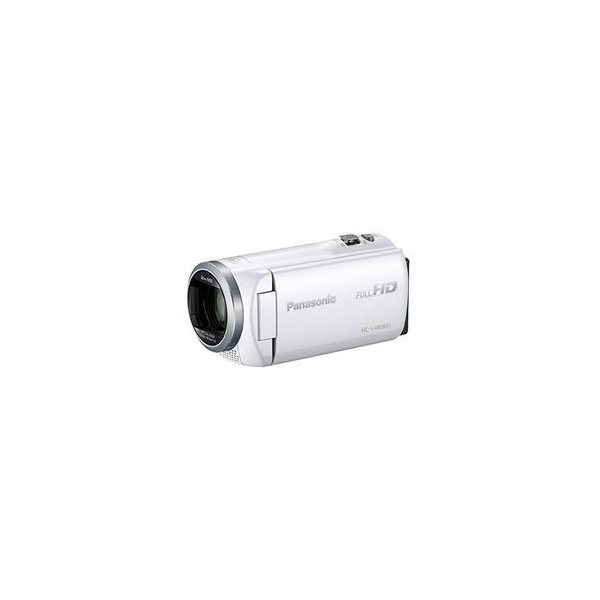 パナソニック デジタルハイビジョンビデオカメラ ホワイト HC-V480MS-W 目安在庫=○