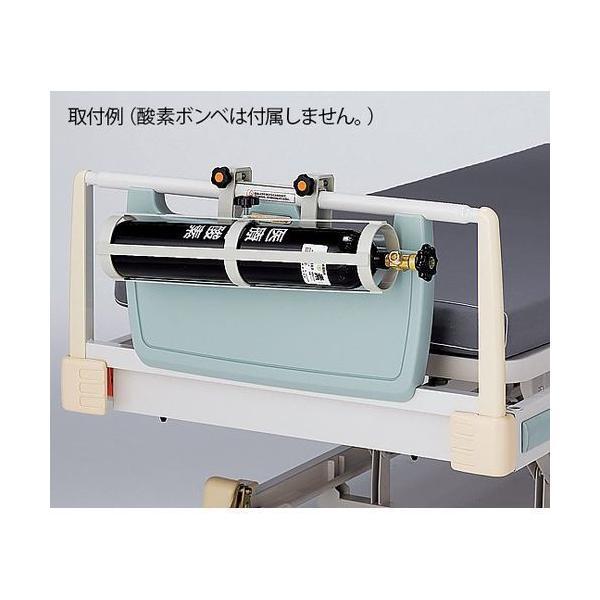 アズワン 酸素ボンベラック(ベッド用横掛けタイプ) (1個) 目安在庫=△