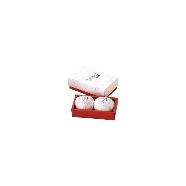 紅白まんじゅうハンドタオル2P B5036018 取り寄せ商品