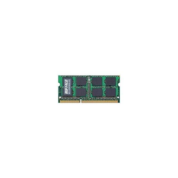 バッファロー MV-D3N1600-2G PC3-12800 204Pin DDR3 SDRAM S.O.DIMM 2GB 目安在庫=○
