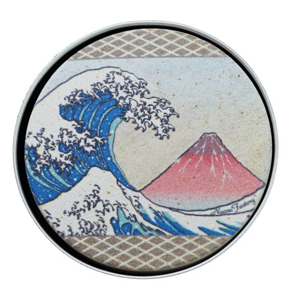 天使のアロマプレート 浮世絵 浪と赤富士|naomifactory