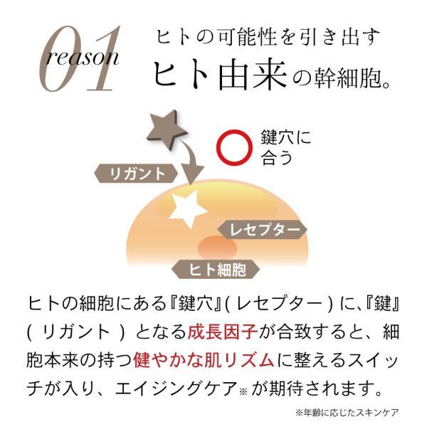 ヒト幹細胞 スキンケア 化粧水 ミムラ hitogataスキンローション 120mL MIMURA hitogata skin lotion 幹細胞 ナノキューブ 日本製 乾燥肌 エイジングケア|napo-cosme|03