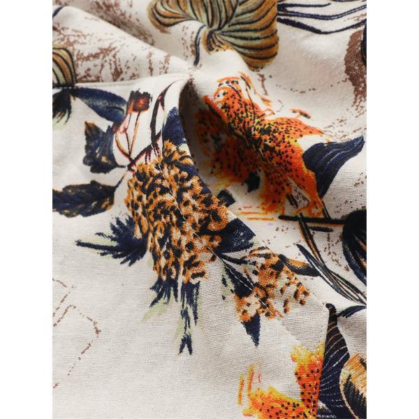 コート レディース 40代 ジャケット カーディガン アウター 花柄 冬 羽織 厚手 裏起毛 体型カバー 長袖 ショート丈 大きいサイズ パーカー ゆったり 通学 50代 |nara-amaken|11