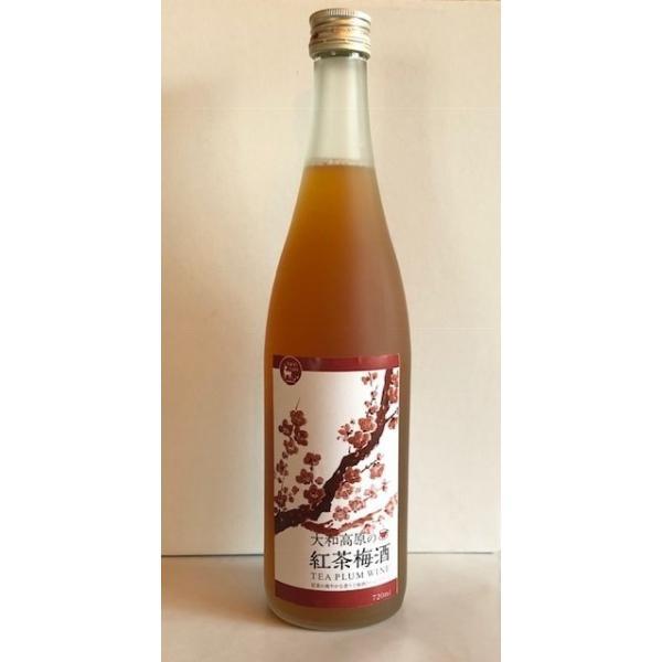 大和高原の紅茶梅酒(720ml)|nara-izumiya