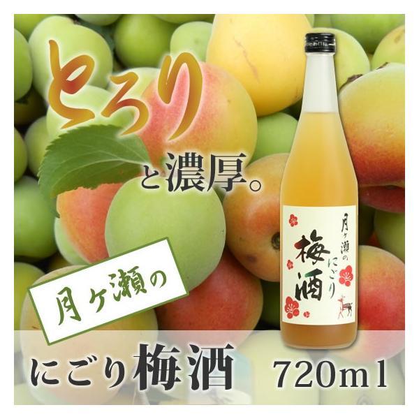 梅酒 月ヶ瀬のにごり梅酒(720ml)八木酒造|nara-izumiya