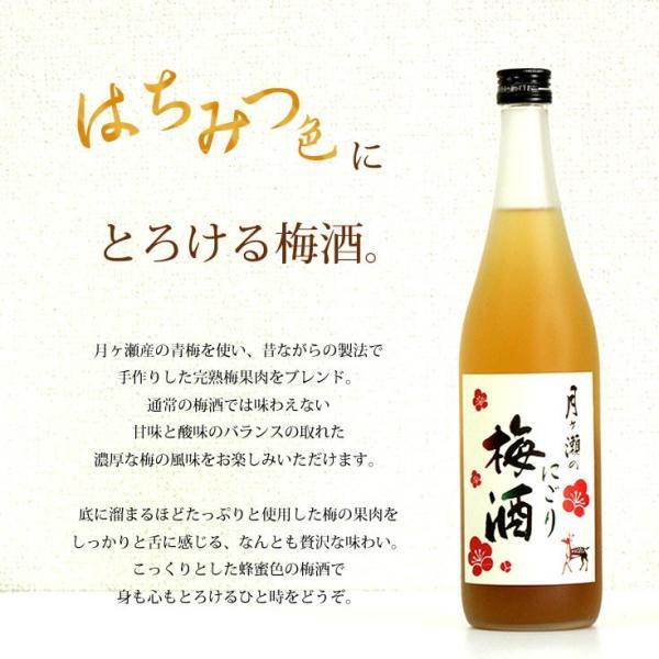 梅酒 月ヶ瀬のにごり梅酒(720ml)八木酒造|nara-izumiya|03