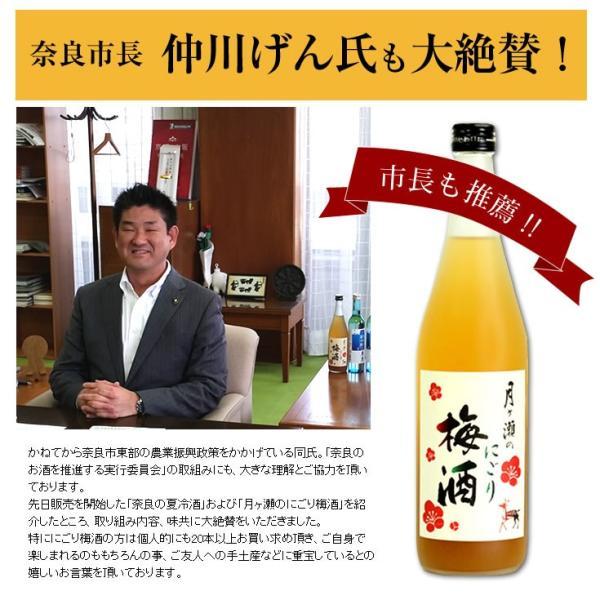 梅酒 月ヶ瀬のにごり梅酒(720ml)八木酒造|nara-izumiya|04