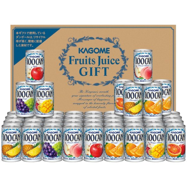 フルーツジュースギフト FB-50N 160g×45本 缶
