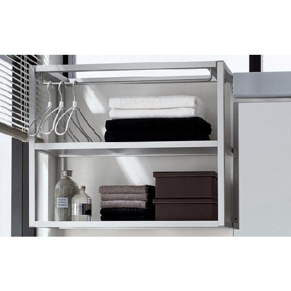 RoomClip商品情報 - パナソニック 洗面化粧台 ランドリーラック GQC75LC 幅750 シーライン