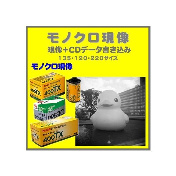 モノクロフィルム モノクロ現像+CDデータ書き込み   FUJI  NEOPAN ACROS PRESTO  Kodak TRY-X 1本から受付
