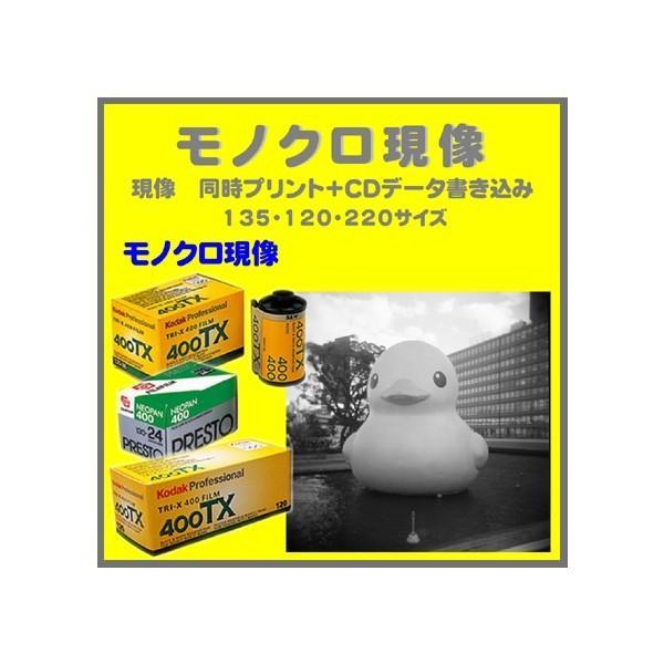モノクロフィルム モノクロ現像  同時プリント+CDデータ書き込み  FUJI  NEOPAN ACROS PRESTO Kodak TRY-X  1本から受付