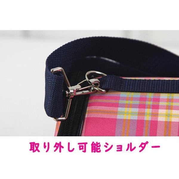 3f24207cde5a ... 【SALE セール】 犬 ペット用 キャリーバッグ チェック 赤 ピンク Mサイズ 小型犬 ...