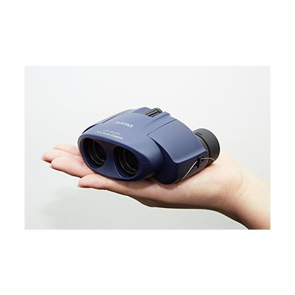 PENTAX 双眼鏡 UP 821 ブラック ポロプリズム 8倍 有効径21mm 61801