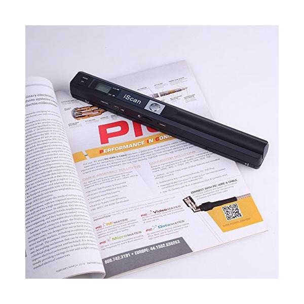 InLight ハンディスキャナー A4 8G microSD OCR搭載 本・書籍のデータ化(自炊)に最適 最大900dpi対応 ハンディスキャ|narimon|03