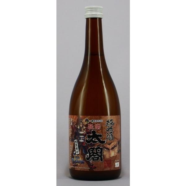 聚楽太閤 純米酒 戦国BASARAコラボボトル720ml|narutaki