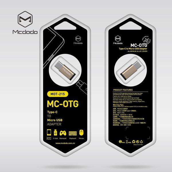マイクロusb を タイプ-c 変換 micro usb → Type C 変換 アダプタ OTG 対応 android usb から USB-C へ ゴールド シルバー Mcdodo日本 一年保障|native-fish-dreams|10