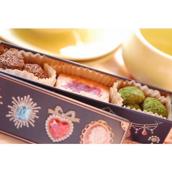 プチギフト アレルギー対応 ビジューなクッキー 缶入り マクロビ|natural-fukurou
