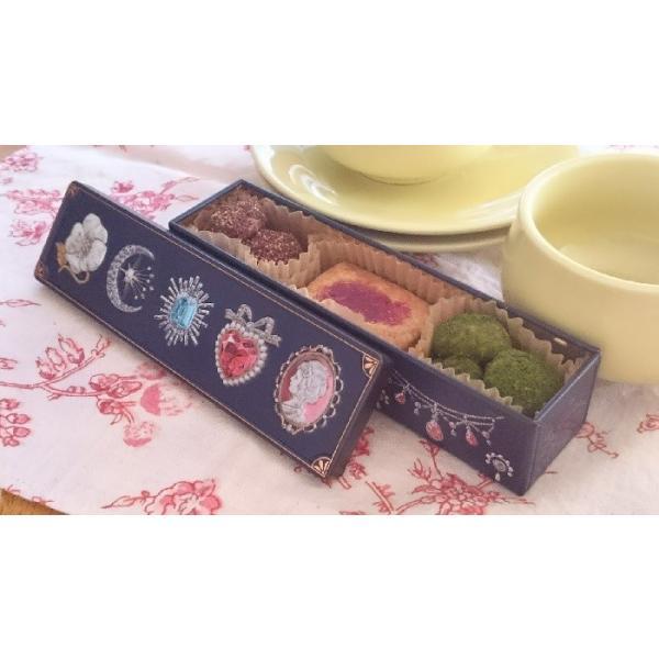プチギフト アレルギー対応 ビジューなクッキー 缶入り マクロビ|natural-fukurou|02