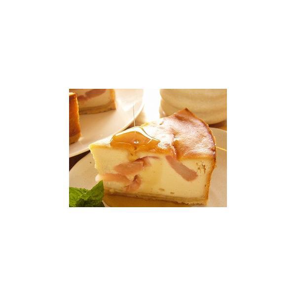 クリスマスケーキ 2018 予約 アレルギー 取り寄せ アップル豆腐チーズケーキ マクロビ アレルギー対応 卵・乳製品不使用|natural-fukurou|02