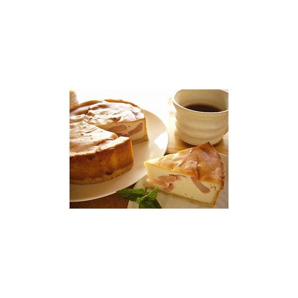 クリスマスケーキ 2018 予約 アレルギー 取り寄せ アップル豆腐チーズケーキ マクロビ アレルギー対応 卵・乳製品不使用|natural-fukurou|03