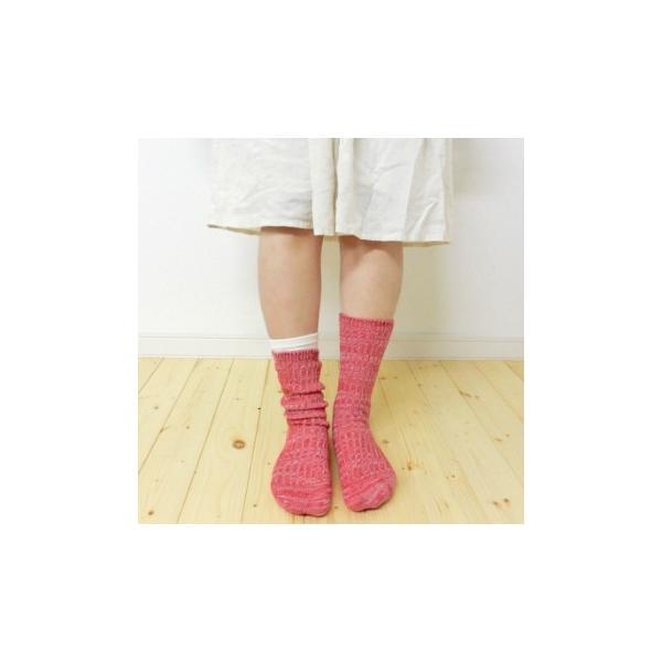 シルク 五本指 & コットン リブ ソックス 2足セット 冷えとり 5本指 靴下 日本製 natural sunny|natural-sunny|06