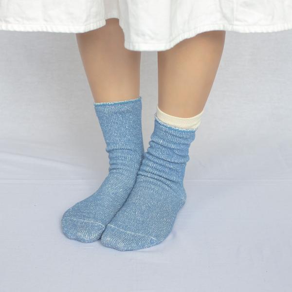 シルク コットン 五本指 & シルクコットン ソックス 靴下 レディース 2足セット 日本製 natural sunny|natural-sunny|07