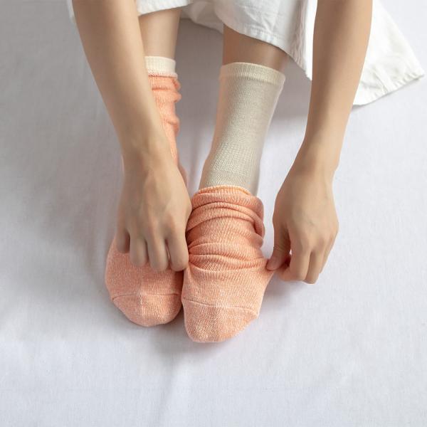シルク コットン 五本指 & シルクコットン ソックス 靴下 レディース 2足セット 日本製 natural sunny|natural-sunny|08