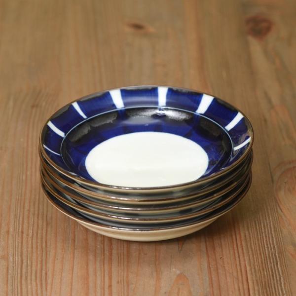 和食器 おしゃれ 波佐見焼 皿 ナチュラル69 焦がし呉須 5寸皿 natural69|natural69|14
