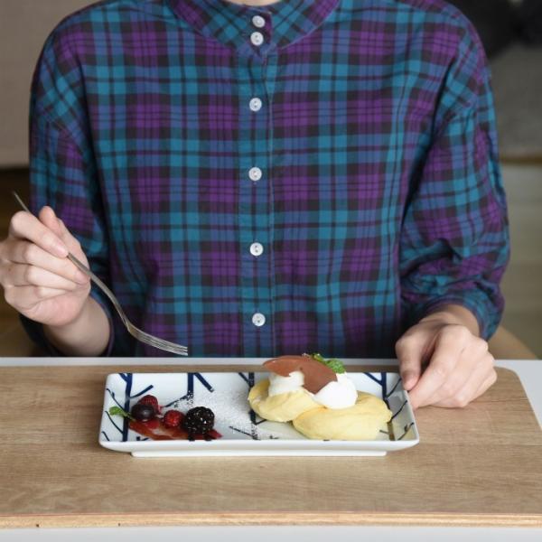 和食器 おしゃれ 波佐見焼  皿 ナチュラル69 スウォッチ 長角皿 natural69 swatch|natural69|12
