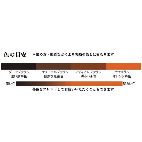 ラジャスタン ヘナ ナチュラルブラウン 自然な黒茶色 100g 白髪染め naturalbalance 07