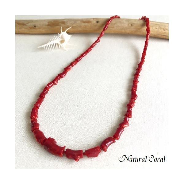 血赤珊瑚 ちあかさんご ネックレス ナチュラルコーラル 送料無料 D