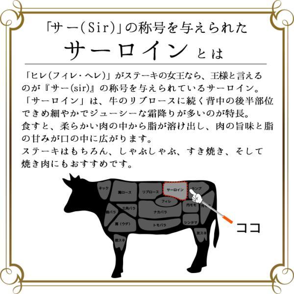 牛肉 ステーキ ギフト 松阪牛 黒毛和牛 サーロイン A5A4(約270g×1枚)|naturalporklink|03