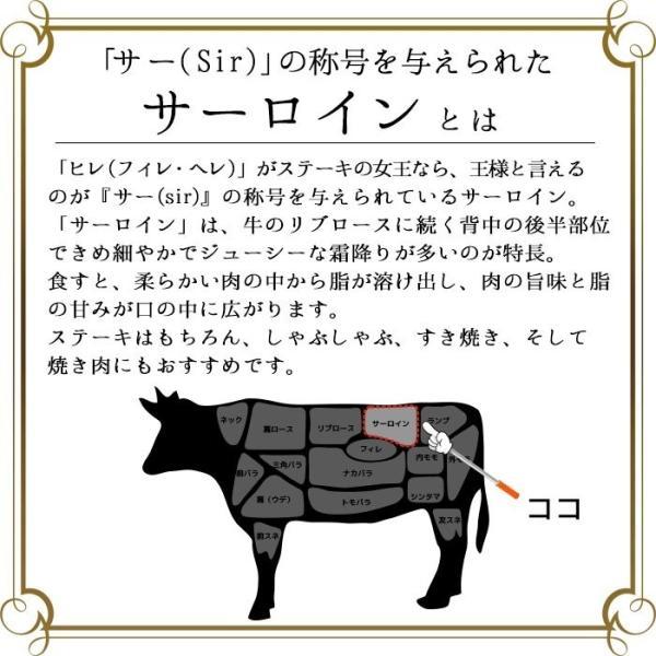 牛肉 ステーキ ギフト 松阪牛 黒毛和牛 ロース芯 サーロイン真ん中 A5A4 約130g×1枚|naturalporklink|05