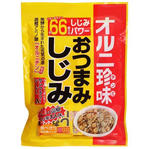 おつまみしじみ オルニ珍味 67g×10袋