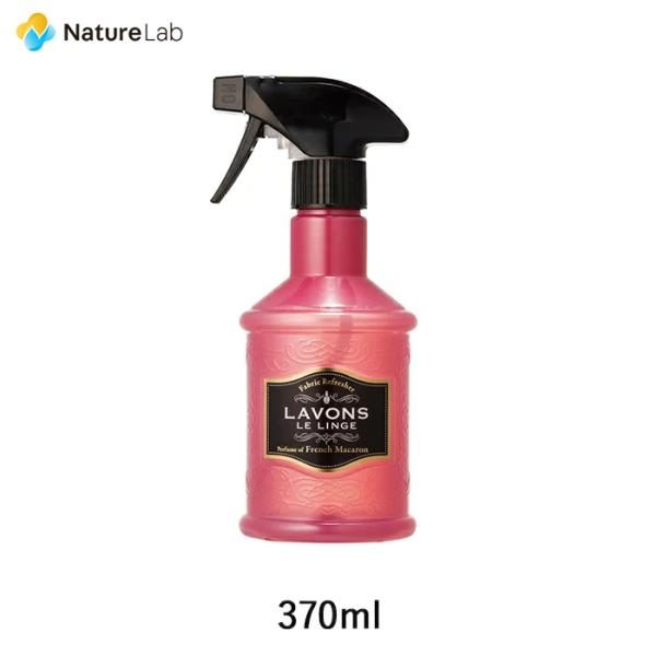 芳香剤 消臭剤 ラボン ファブリックミスト フレンチマカロンの香り 370ml naturelab-store