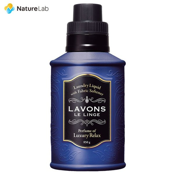 洗剤 ラボン 柔軟剤入り 洗濯洗剤 ラグジュアリーリラックス 850g|naturelab-store