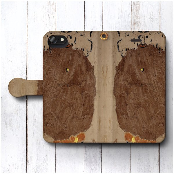 iPhone6sPlus ケース スマホケース 手帳型 絵画 全機種対応 ケース 人気 あいふぉん ケース 丈夫 耐衝撃 パウル クレー 砂漠の侵略者