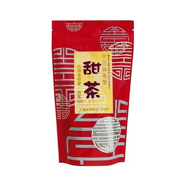 甜茶(てんちゃ)20ティーバッグ入 ノンカフェイン 日本緑茶センター メール便なら1個限定220円可(クーポン利用可)|natures